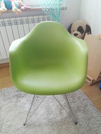 Nowoczesny fotel EAMES Eiffel daw mondi krzesło Zielone