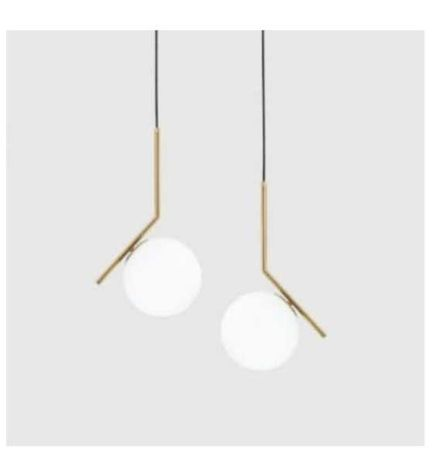 Lampa nowoczesna white ball wisząca biała kula średnica 30 cmm