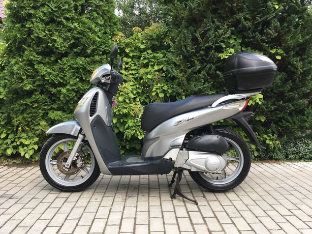 Honda SH 125/50 2006, motorower, skuter, duże koła, kufer, RATY