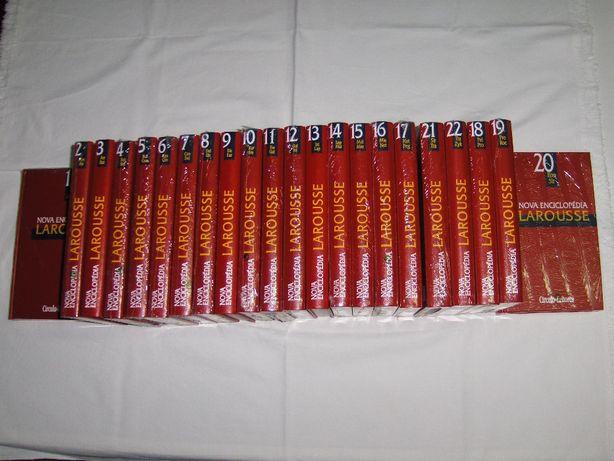 NOVA ENCICLOPÉDIA Larousse - 20 volumes - Novos