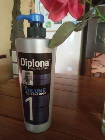Шампунь для тонких волос  Diploma