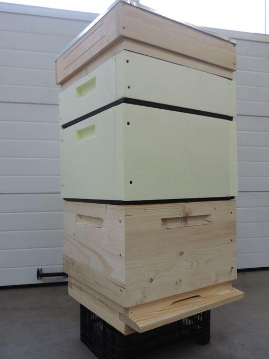 Ule wielkopolskie styrodurowe, ul 10 ramkowy, kombinowany, pszczoły