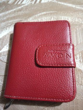 Mały portfelik czerwony