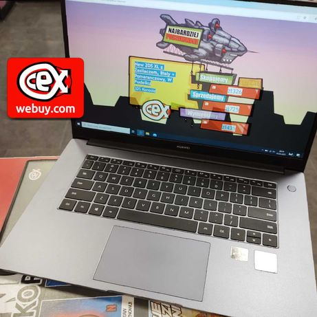 Huawei Matebook D15 dwuletnia gwarancja!