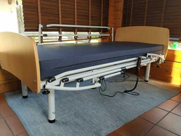 Cama articulada hospitalar eléctrica COMPLETA - NOVA