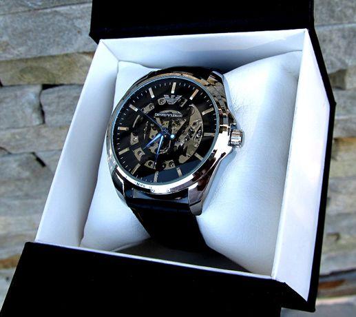 4 Цвета Часы мужские наручные механические скелетон Rolex Лучший подар