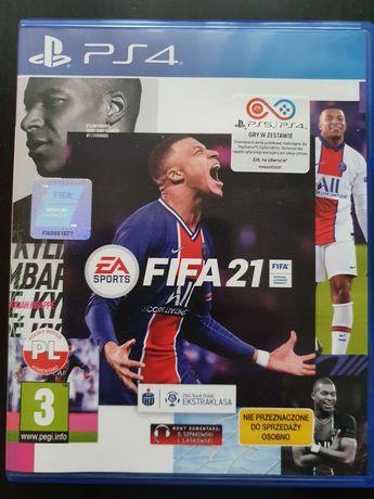Gra FIFA 21 na ps4
