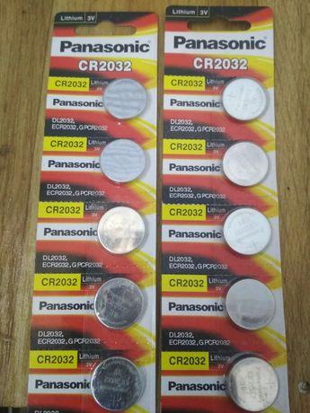 Батарейки CR 2032 литиевые 3v 5штук на блистере