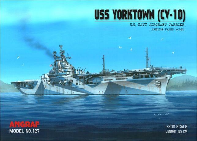 Angraf nr 127 lotniskowiec USS Yorktown (CV-10)