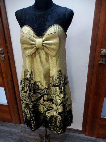 Jedwabna wieczorowa sukienka karen FLYNOW 38