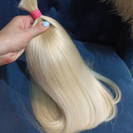 Славянские волосы блонд 60 см