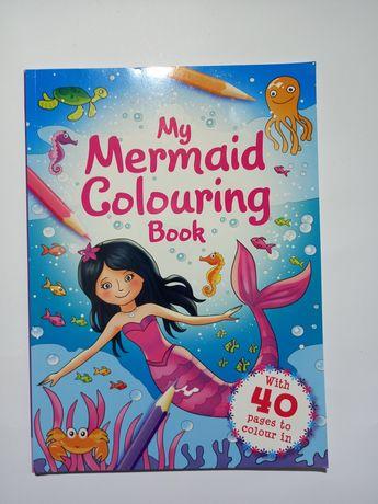 Раскраска для детей Mermaid (Русалочка)
