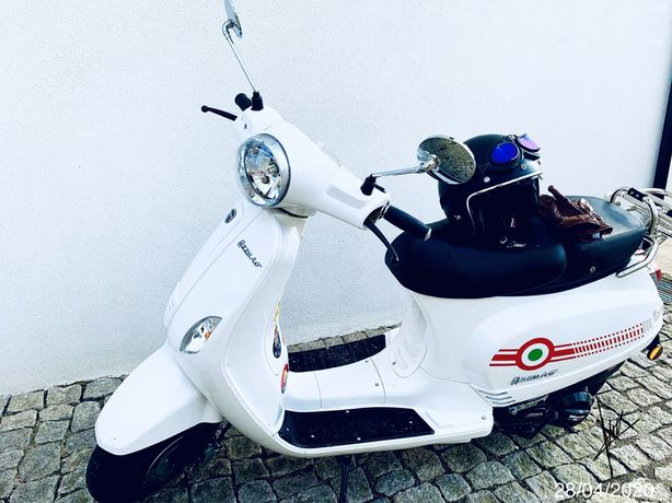 Moto neco azzurro GP 125