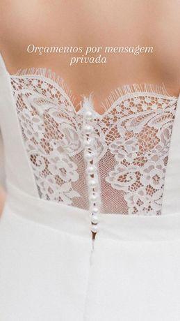 Atelier Noivas 2021 /2022 Vestidos e véus