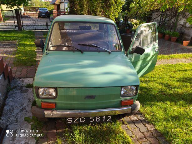 Maluch Fiat 126p 1981