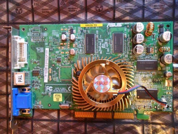 видеокарта ASUS 5200 AGP 8