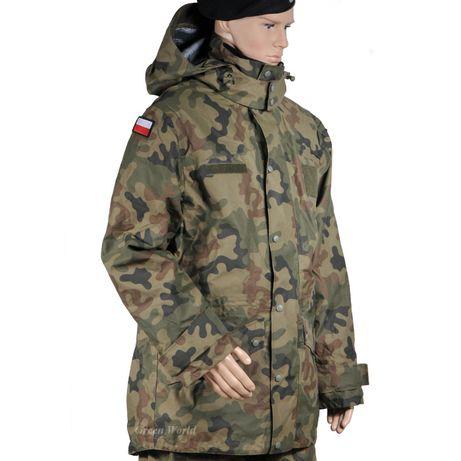 KURTKA wojskowa - Ubranie ochronne gore-tex 128/MON