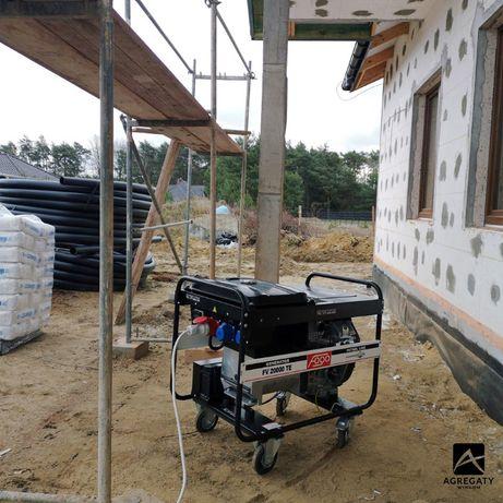 Agregat prądotwórczy Generator prądu agregaty zasilanie honda fogo