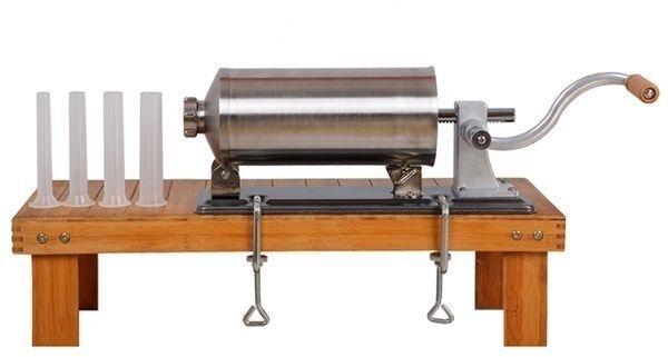 шприц колбасный горизонтальный 3 кг для набивки колбас вертикальный