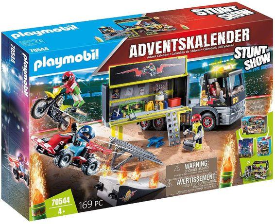 Playmobil 70544 Адвент Календарь Шоу каскадерских трюков Грузовик