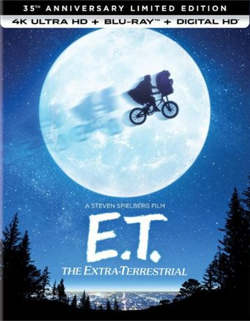 """""""E.T. The Extra - Terrential"""" 4K UHD + Blu-Ray + CD USA bez PL"""