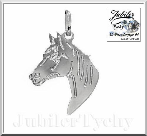 Srebrny wisiorek koń srebrne konie srebrna przywieszka konna konik 925