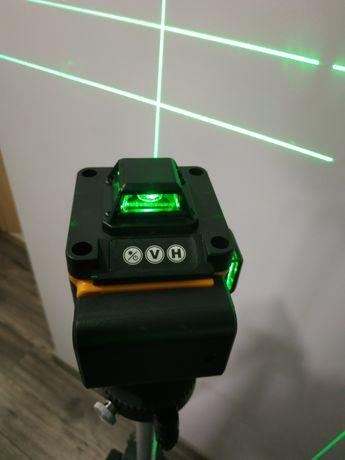 Nowy samopoziomujący laser krzyżowy PRACMANU 4d 16 linii pilot poziom