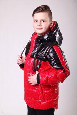 Модная весенняя куртка жилет на мальчика