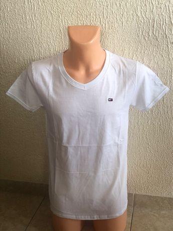 Tommy Hifiger t-shirt męski w szpic M