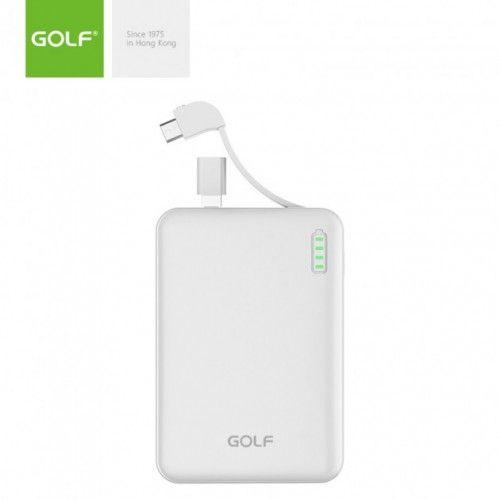 Внешний аккумулятор Power bank GOLF G73 10000 Mah батарея зарядка Белы Сумы - изображение 1