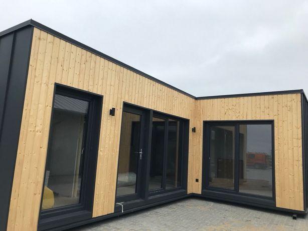 Gotowy całoroczny domek modułowy, dom do 35 m2 do obejrzenia