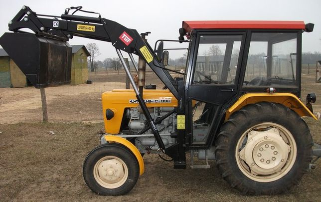 Na traktor C 360 330 tur 3 Zetor MF 255 nowy montaż