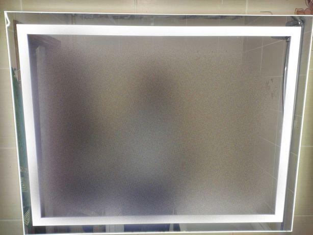 Зеркало с подсветкой 90см -70см