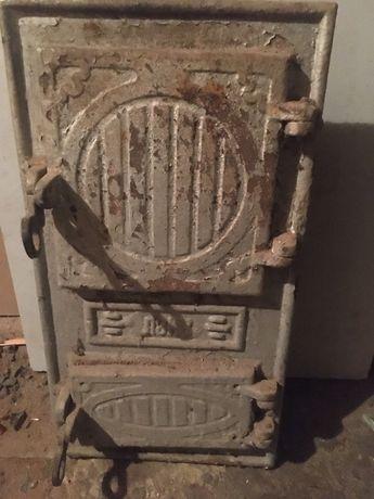 Печная дверка и пальник