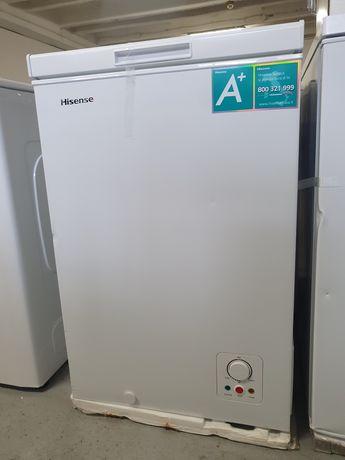 Zamrażarka skrzyniowa HISENSE 95L biała