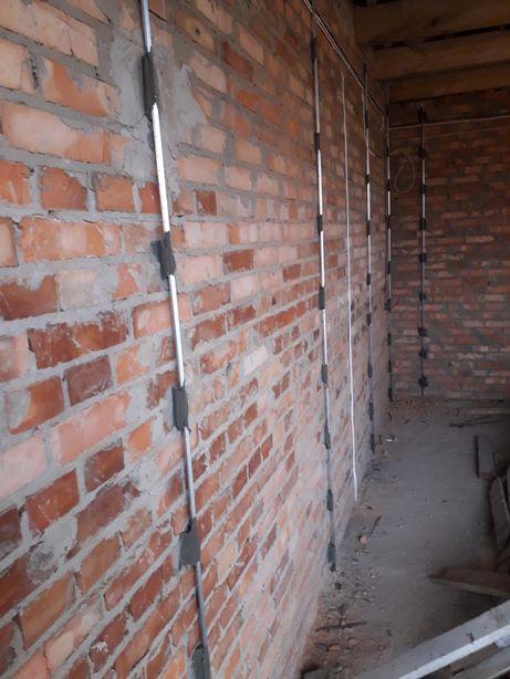 Штукатурка цементно-піщана , стяжка піщана