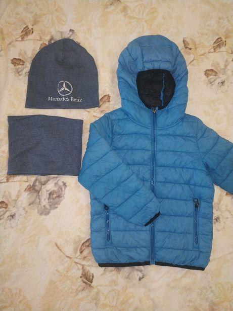 Куртка Next Некст 3-4 года 104 см,шапка и хомут в подарок