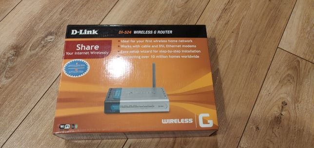 Router internetowy DLink DI-524
