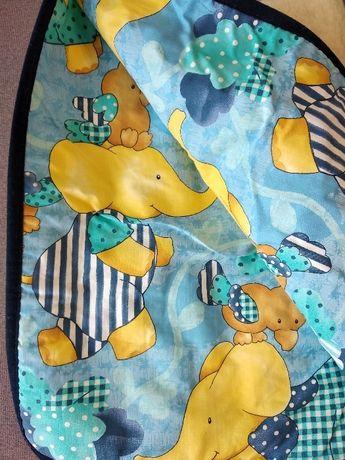 Детское одеяло, подушка, наматрасник Bauer