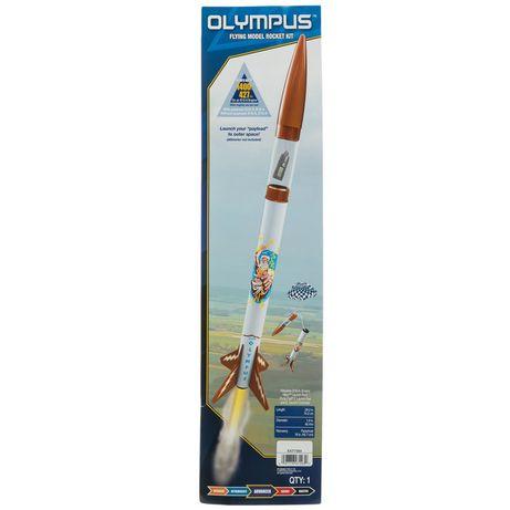 Летающая модель ракеты «Олимп»
