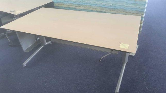 Biurko regulowane 170x89 regulowana wysokość dom biuro praca zdalna