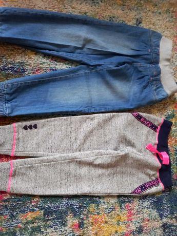 Spodnie dziewczynka stan jak nowe