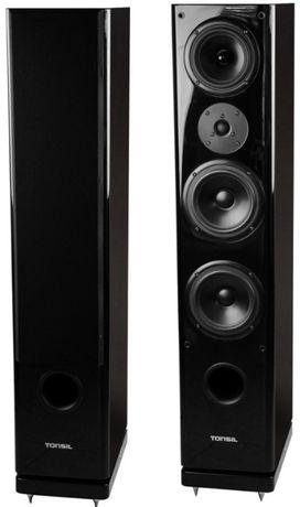 Kolumny podłogowe Tonsil Maestro III, fronty, głośniki, stereo