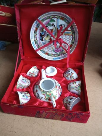 Komplet porcelany mini -nowy