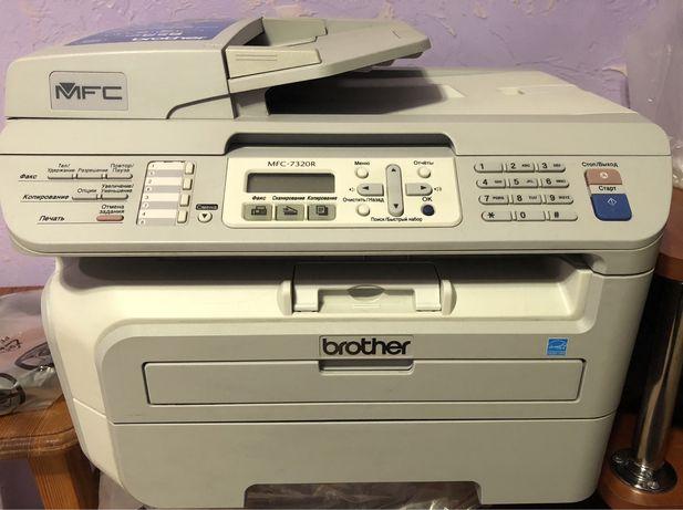 МФУ принтер Brother MFC-7320R з новим фотобарабаном