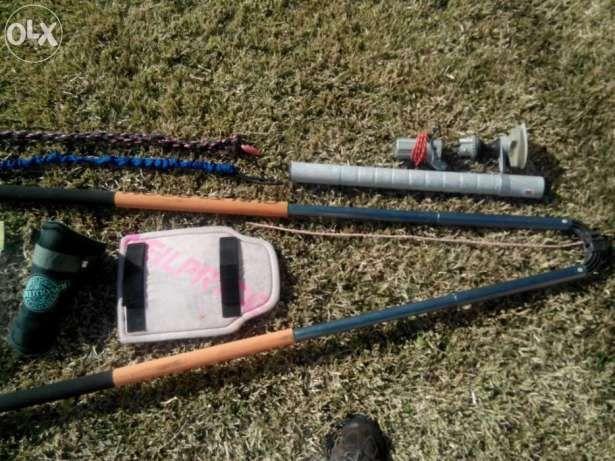 Material Windsurf (vendo em separado) cabos arnes,protetor mastro, etc