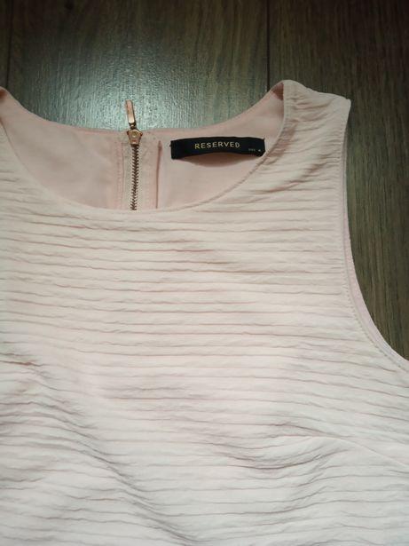 Bluzka jasny pudrowy róż Reserved