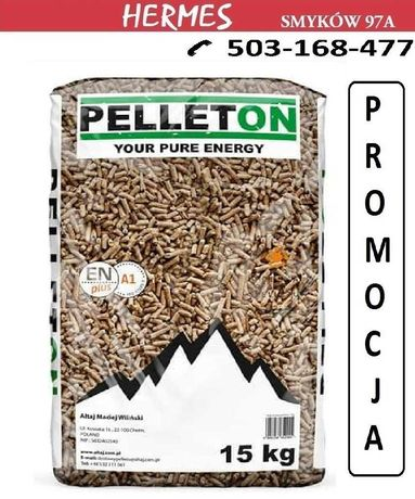 Pellet PELLETON A1 Certyfikat (Olczyk, Dankros, Ekogroszek) Kielce