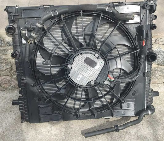 BMW X3 g01 радіатор з вентилятором