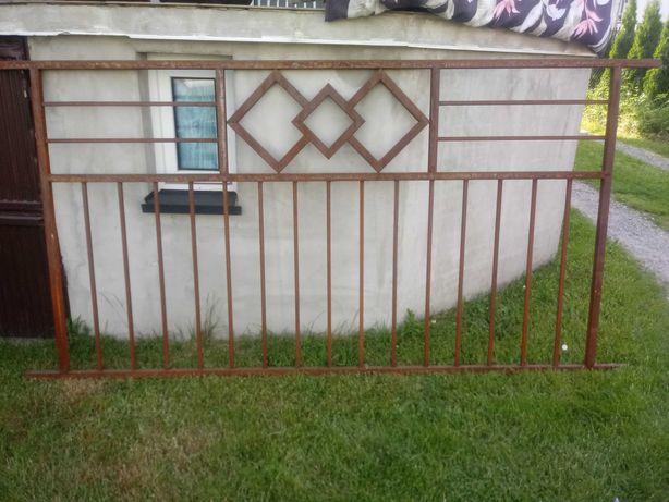 Przęsła ogrodzeniowe stalowe + szablon GRATIS